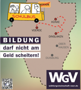 WGV Wahlplakat 2014