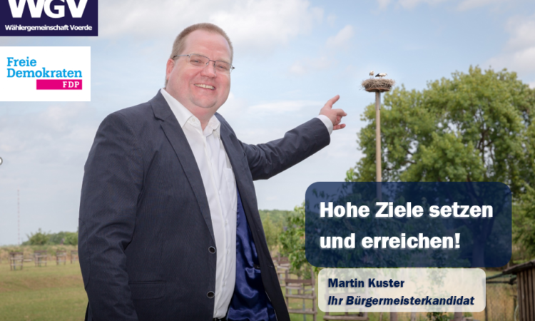Martin Kuster Bürgermeisterkandidat